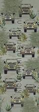 Bush drive green carta da parati Behang Expresse Sofie en Junar INK7653