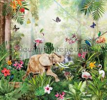 Jungle dance carta da parati Behang Expresse Sofie en Junar INK7665
