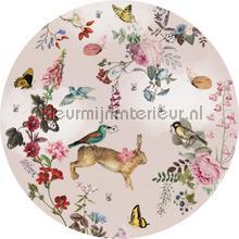Vintage fairytale cirkel 150cm wallstickers Behang Expresse alle billeder