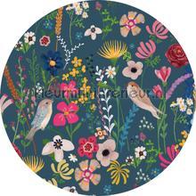 Tsjilp evening cirkel 150cm decoration stickers Behang Expresse teenager