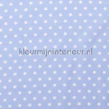 Sterretjes stof babyblauw cortinas Kleurmijninterieur niños