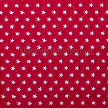 Sterretjes stof rood rideau Kleurmijninterieur garçons
