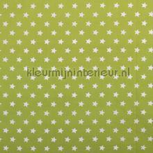 Sterretjes stof lime groen rideau Kleurmijninterieur garçons