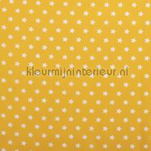 Sterretjes stof geel rideau Kleurmijninterieur garçons