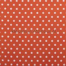 Sterretjes stof oranje rideau Kleurmijninterieur garçons