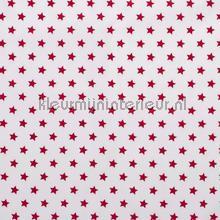 Sterretjes stof wit rood rideau Kleurmijninterieur garçons