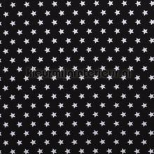 Sterretjes stof zwart vorhang Kleurmijninterieur uni farben