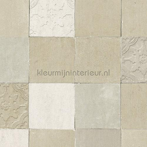 Rustieke tegels carta da parati kmi102 piastrelle Kleurmijninterieur