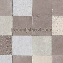 Rustieke tegels papier peint Kleurmijninterieur spécial