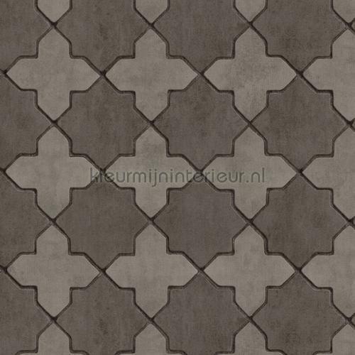 Portugese kruistegels carta da parati kmi107 piastrelle Kleurmijninterieur