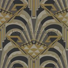 Conway Antique Bronze wallcovering Zoffany The Muse 312744