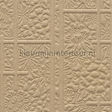 Shoji Blossom Ivory behang Arte uni kleuren