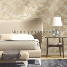 Pine tree cream tapet Dutch Wallcoverings Wall Fabric WF121012