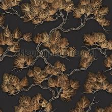 Pine tree black papier peint Dutch Wallcoverings wallpaperkit