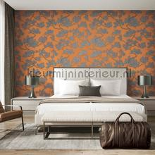 Pine tree orange papier peint Dutch Wallcoverings spécial