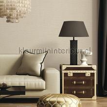Linen dark cream behang Dutch Wallcoverings uni kleuren