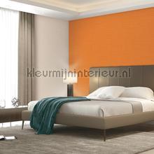 Linen orange carta da parati Dutch Wallcoverings tinta unita