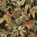 Botanisch borduurwerk en relieflook wallpaper by meter creative