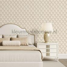Klassiek borduurwerk en relieflook behang Dutch Wallcoverings klassiek