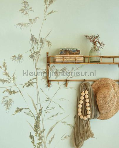 Aqua Twigs Celadon fototapet 300904 Moderne - Abstrakte Eijffinger