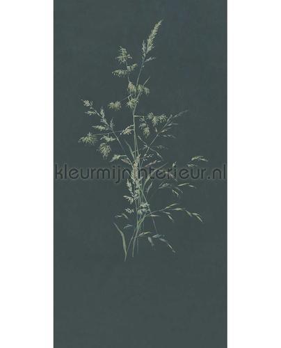 Aqua Twigs Denim fototapet 300906 Moderne - Abstrakte Eijffinger