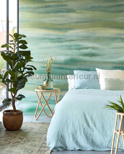 Waterwalll Green fototapeten 300907 Modern - Abstract Eijffinger