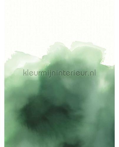 Aquarelle Green fototapet 300915 Moderne - Abstrakte Eijffinger