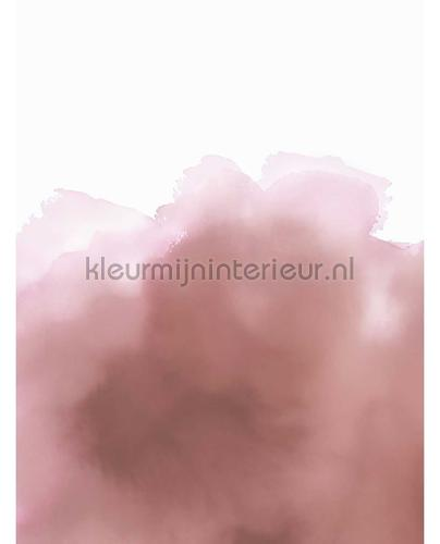 Aquarelle Rose fototapet 300917 Moderne - Abstrakte Eijffinger