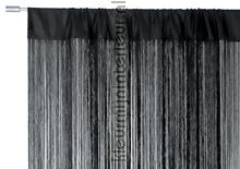 Lasalle zwart vlamwerend fly curtains Blyco wire curtains