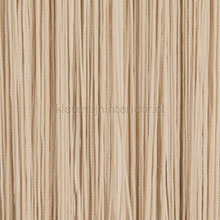Draadgordijn waterval beige fly curtains wire curtains