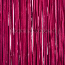 Draadgordijn waterval wijnrood fly curtains wire curtains