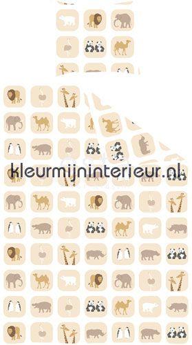 animals stoffer 155805 dynebetræk Esta for Kids
