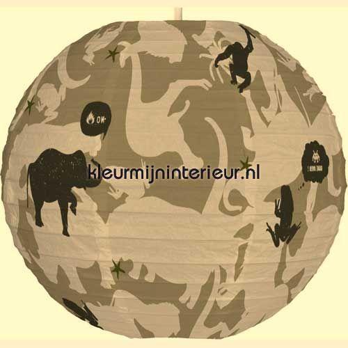 Camouflage jungle lamp gordijnen Kidslab   kleurmijninterieur.nl