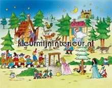 fairy tale papier murales AS Creation XXL Wallpaper 0350-7