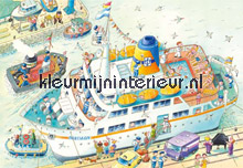 Boat papier murales AS Creation XXL Wallpaper 0351-0