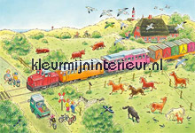 Train papier murales AS Creation XXL Wallpaper 0351-5