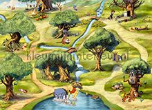 Hundertmorgenwald fotobehang Komar Disney-kids 4-453-
