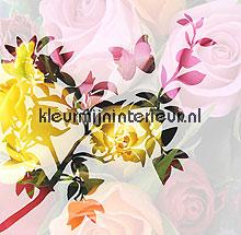 Roses in the shadow papier murales BN Wallcoverings PiP studio wallpaper