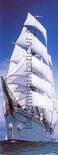 sailing boat fotobehang Komar Scenics 2-1017
