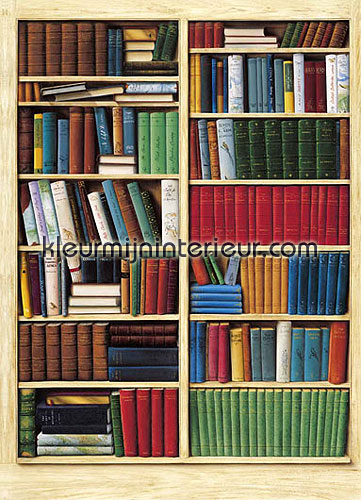 bibliotheque fotobehang 401 aanbieding fotobehang Ideal Decor