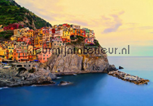 Cinque Terre Coast photomural Ideal Decor Ideal-Decor Poster 00130
