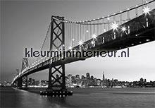 San Francisco Skyline fotobehang Ideal Decor Ideal-Decor Vlies 00958