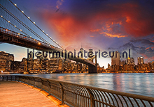 New York bridges Sky line fotomurales ft0021 oferta