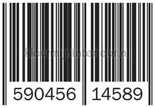 Barcode fotobehang Kleurmijninterieur Modern---Abstract