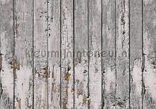 Old wooden wall fotobehang Kleurmijninterieur Hout
