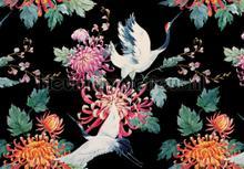 Wereld van kraanvogels papier murales Kleurmijninterieur PiP studio wallpaper