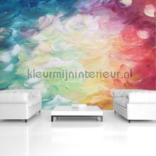 Paint touches in bright colors fotobehang 12921ve-l Kunst - Ambiance Kleurmijninterieur