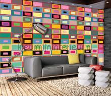 Colourwall fotobehang Kleurmijninterieur Kunst---Ambiance