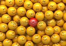 Just Smile fotobehang Kleurmijninterieur Kunst---Ambiance