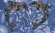 Dolphin art fotobehang Kleurmijninterieur Dieren